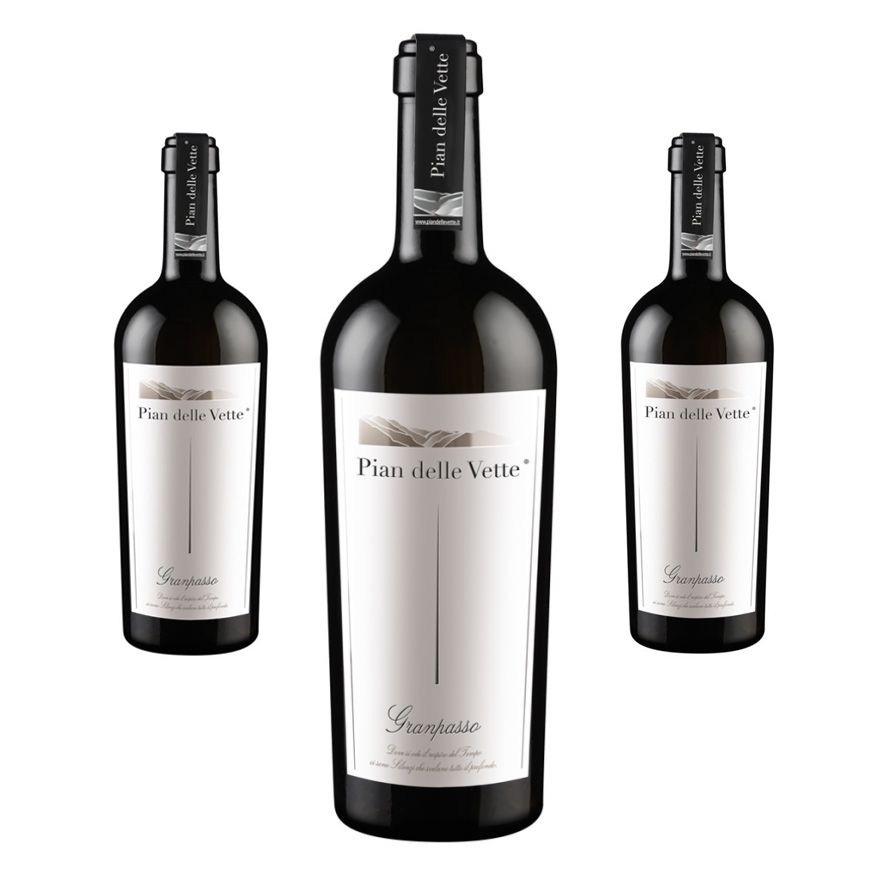 Granpasso grapes Teroldego 2014 - Strong character - 3 bottles