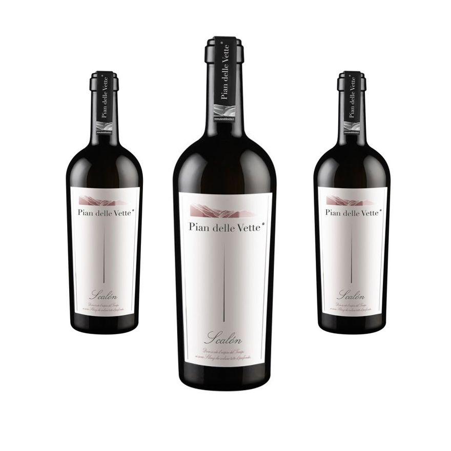 Scalon Uve Diolinoir annata 2013 - Eleganza e vivacità - 3 bottiglie